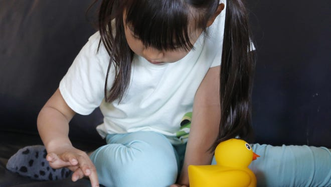 Edwin the Duck can read a story, play a song, be a night light or serve as a game controller.