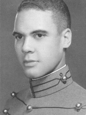 This undated photo provided by the U.S. Army shows then-cadet Benjamin O. Davis Jr. Davis entered West Point in 1932.