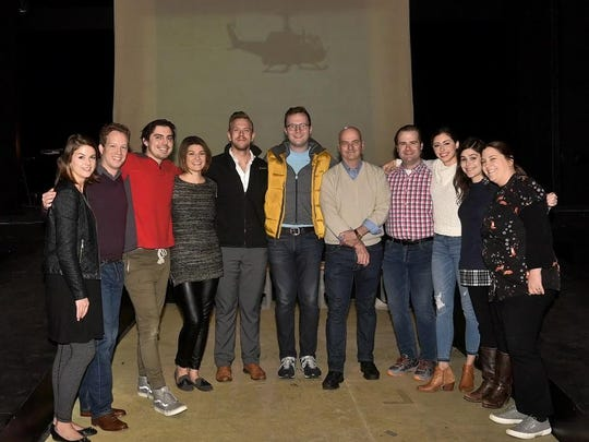 The cast and creative team for Tri-Cities Opera's production