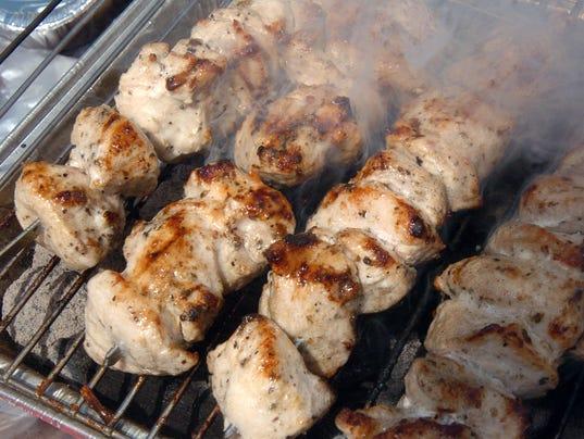 Chicken spiedies (Photo: File photo)