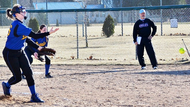 Oconto's Becky Berth picked up five wins in a span of five days, including three no-hit shutouts.