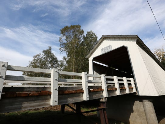 The Gallon House Bridge was built in 1916.