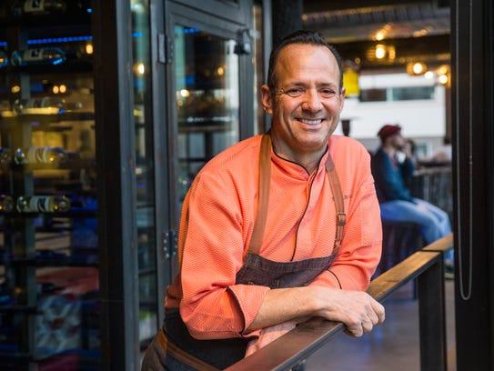 Chef Alex Stratta from Match Restaurant & Lounge at