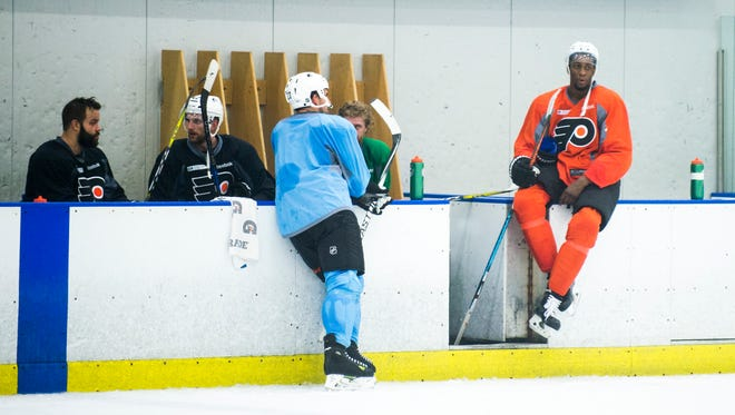 More and more of the Flyers' practices have become optional so the players still have fresh legs for games.