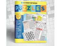 Puzzles & Games!  28 Pages of Fun Delivered Weekly
