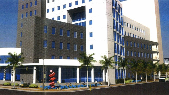 Fort Myers council and planning board members have approved a $45 million assisted living facility as an addition to the Camp Felice  luxury senior living project in the heart of downtown. The concept drawing, shown, shows the view of the building from the corner of Fowler and First Street.