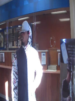 Police say the man in the picture robbed the Chase Bank on Genesee Street on Tuesday.