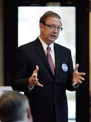 GOP U.S. House candidate Hans Reigle held a leadership