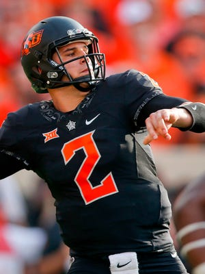 Former Oklahoma State QB Mason Rudolph was a third-round draft pick by the Steelers.
