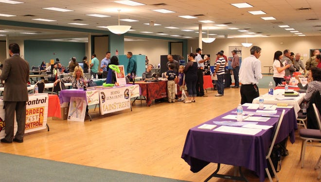 The Business Expo will be held from 10 a.m. to 1 p.m. on Wednesday, March 28 at the Mimbres Valley Special Events Center, 2300 E. Pine Street in Deming. Last year's event drew over 40 business representatives who set up tables and booth to showcase their business opportunities to help initiate economic growth in Deming and Luna County. The Expo drew hundreds of people interested in business and job opportunities.