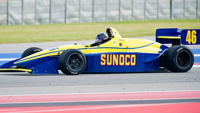 Oct. 26, 2013 - Austin, Texas, United States of America - October 26, 2013: SVRA Group 9 at the U.S. Vintage Racing National Championship at Circuit of the Americas, Austin, TX. (Cal Sport Media via AP Images)
