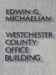 The Edwin G. Michaelian Westchester County Office Building in White Plains, photographed Feb. 6, 2016.