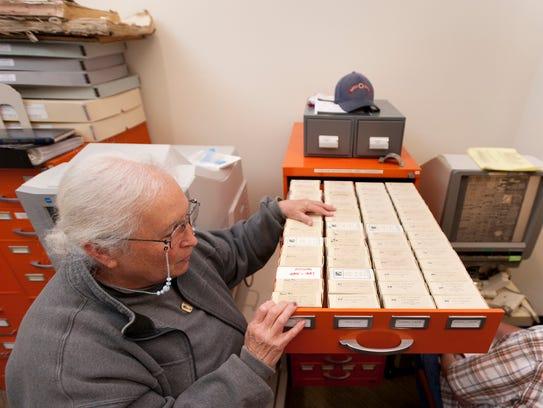 Lorene Clark talk about digitizing microfiche and micro