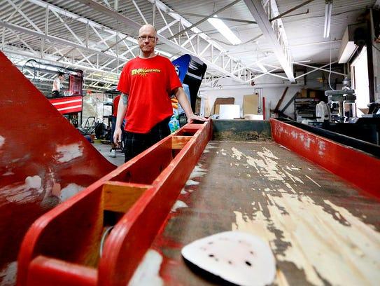 Co-owner Gene Goodman talks about refurbishing Skeeball