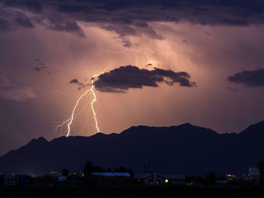 McDowell Mountain Lightning