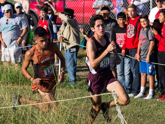 Tuloso-MidwayÕs Ace Castillo during the the boys 5A