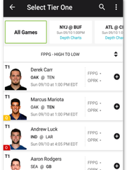 DraftKings Pick'em mode drops the salary cap, letting