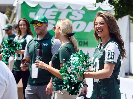 New York Jets opening day of training camp at the Atlantic