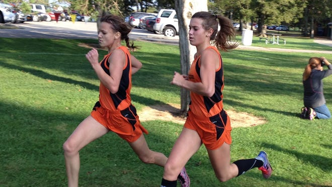 Andrea Crowe, Jenna Sica and Kirsten McGahan will be at MIS on Saturday, although McGahan won't be running due to a season-ending foot injury.