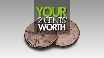 Your 2 Cents' Worth: Monday, March 27