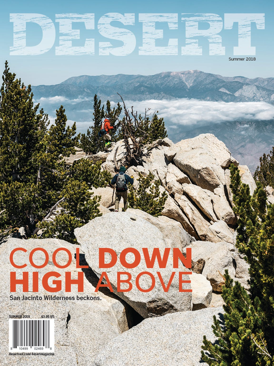 Beat the heat with DESERT magazine's summer 2018 issue.