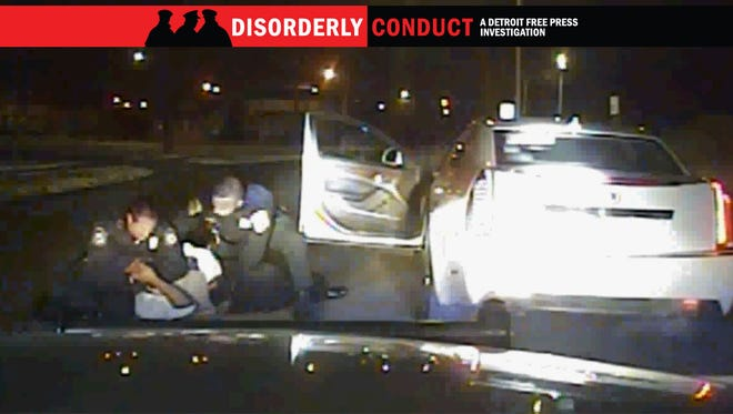 In this dashcam video from Inkster Police, officers are seen pulling Floyd Dent from his car. Dent was pummedled during the traffic stop. The assault of Dent eventually cost the impoverished community $1.4 million.