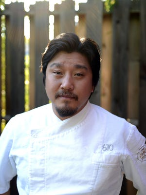 Chef Edward Lee will cook for 100 special guests at the Rivalry Gala on Oct. 17.