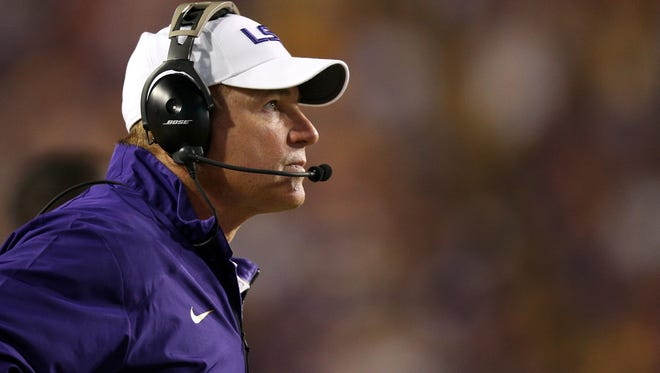 On Election Day, Les Miles encouraged the country to exercise their civic duty and vote.