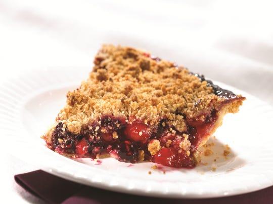 Michigan 4-Berry Pie
