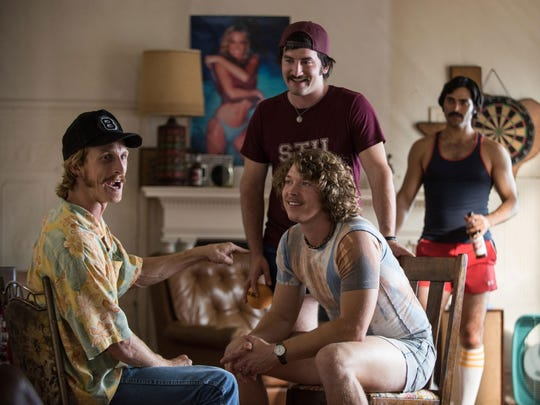 "Austin Amelio, Tanner Kalina, Forrest Vickery, Tyler Hoechlin and Ryan Guzman star in ""Everybody Wants Some!!"""