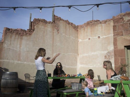 The Annex Cocktail Lounge patio, April 10, 2018, 50