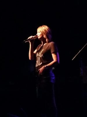 Miranda Lambert performs a surprise show at Exit/In in Nashville.