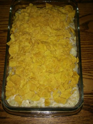 This week's recipe for chicken potato casserole comes from Lovina's daughter Verena.