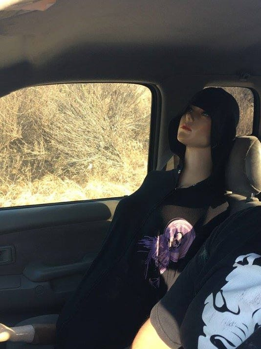 What Is Hov Lane >> Police: Calif. driver used mannequin to drive in carpool lane