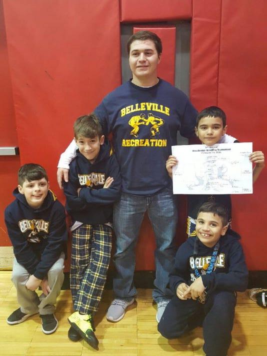 Belleville wrestling recreation