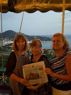Kathleen Olsen, Rose Rago and Carol Lyons.