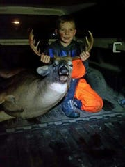 Youth Deer Hunt, which took place on Oct. 7 and 8, was exciting for 12-year-old Peter Klessig of Newton. Hunting with a mentor, his dad Robert, Peter was able to harvest a 13-point buck in Manitowoc's Cleveland area.