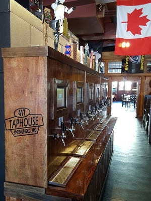 You can pour your own beer at 417 Taphouse.