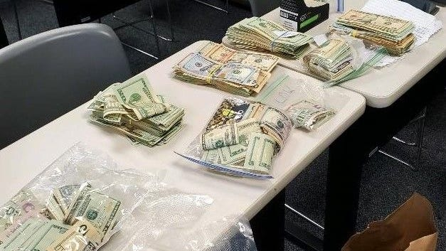 Millville police seized nearly $80,000 during a marijuana bust this week.