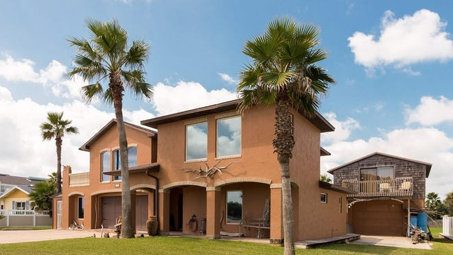 This beachside estate is conveniently located between Ormond Beach and Flagler Beach. It's also been recently fortified to withstand storms.
