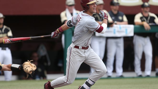 Senior Steven Wells Jr. is one of Florida State's potential starters in right field.