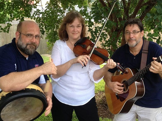 Emerald Accent band performs a Brown Bag Concert at