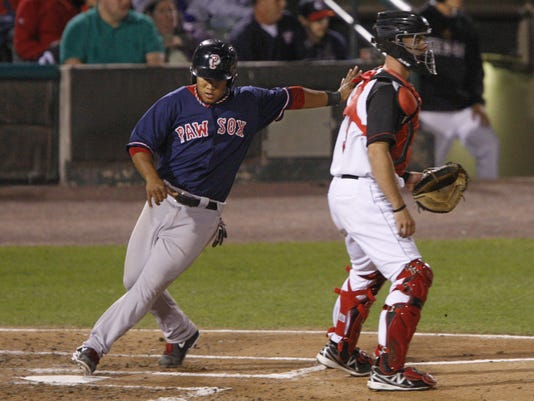 Pawtucket evens series with Red Wings