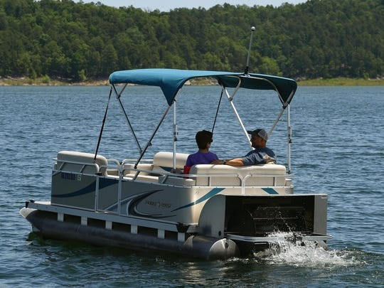 Another way to enjoy our picturesque lakes is a day on the water in a paddle pontoon.