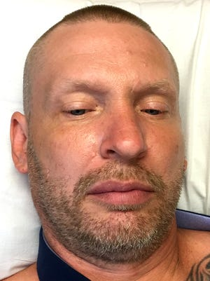 Tony Walker, 45, of Warren, who was charged with murder June 2, 2017 after authorities said he crashed into a vehicle in Roseville, killing a person,possibly after he and another man fled fromalleged larceny on Thursday. Walker was arraigned at a local hospital.