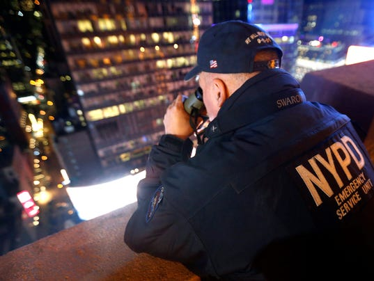 NYPD high rise security New Year's Eve 2015
