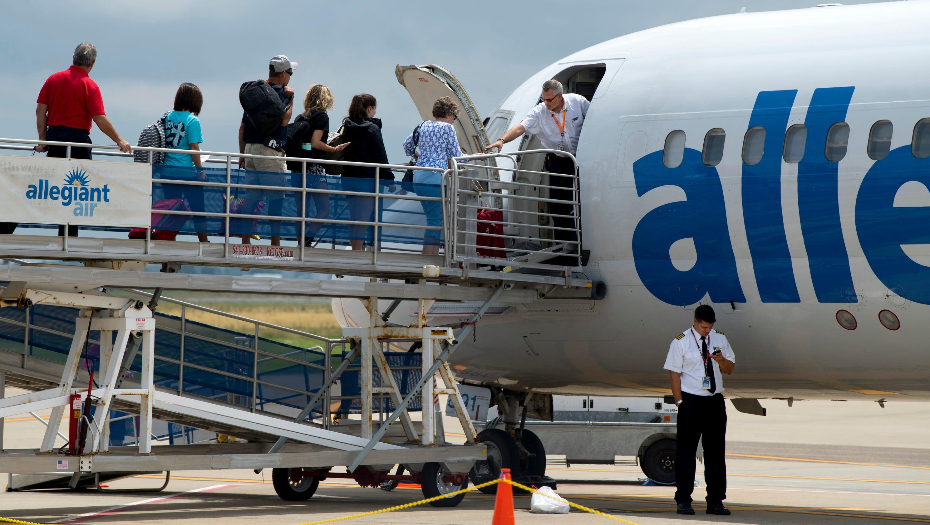 Allegiant Air Manage Travel