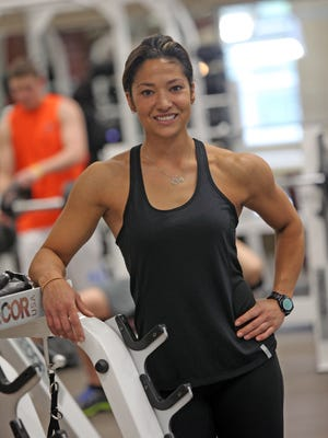 Personal trainer Robin Scott is photographed at Lifetime Fitness in White Plains on April 30.