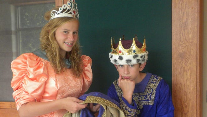 """Students take part in the Xavier Theatre Academy production of """"The Emperor's New Clothes,"""" which runs Aug. 5-7 at the Xavier Fine Arts Theatre."""