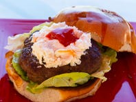 Burgers with pizzazz: Surf 'n' turf burger judged best in annual BBQ contest